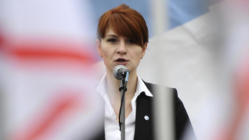Condenan a la activista rusa María Bútina a 18 meses de prisión en Estados Unidos