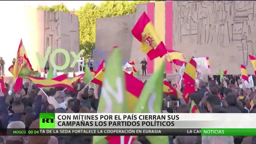 La fragmentación partidaria aumenta la indecisión en vísperas de las elecciones en España