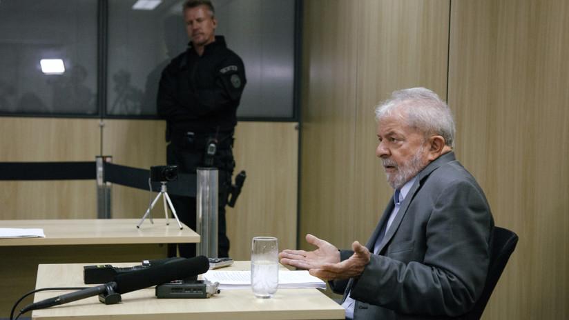 """""""Este país no puede estar gobernado por esa banda de locos"""": Lula habla desde la cárcel"""