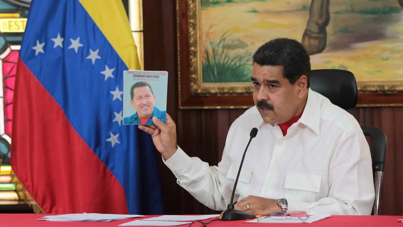 """Maduro: """"Es una vulgar maniobra del imperio de EE.UU. pretender defender el legado de Chávez"""""""