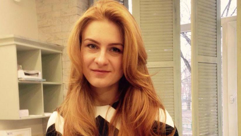"""Moscú considera """"inaceptable"""" la detención prolongada de la ciudadana rusa María Bútina en EE.UU."""