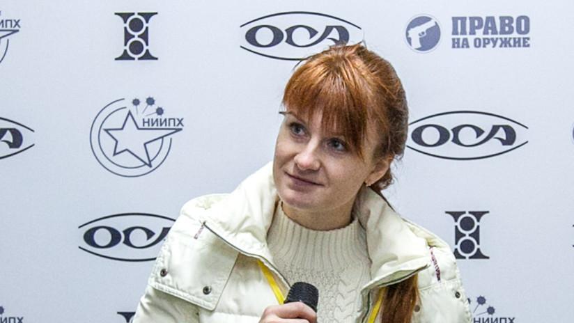 """Putin sobre Bútina: """"La arrestaron sin tener nada de qué acusarla y ahora intentan justificarse con su condena"""""""