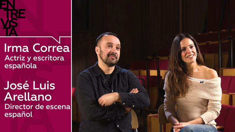 """Actriz Irma Correa y director de escena José Luis Arellano: """"El teatro es un acto de amor"""""""