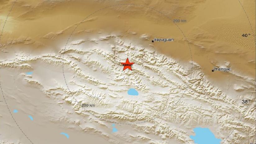 Un sismo de magnitud 5,2 se registra en China