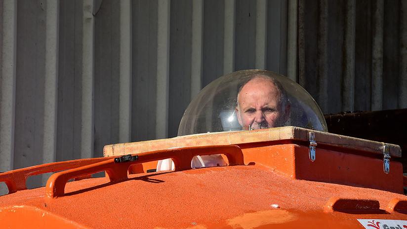 FOTOS: Un pensionista francés cruza el Atlántico en un barril