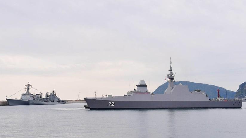 Fuerzas navales de 18 países anuncian maniobras en Corea del Sur y Singapur