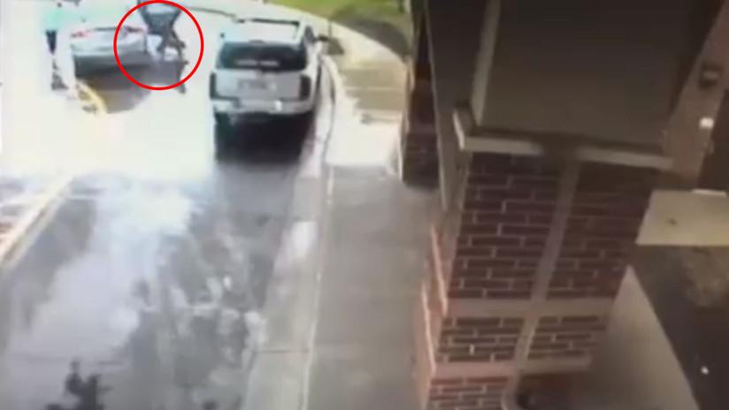 #Video Niño evita el secuestro de su hermana en Ohio