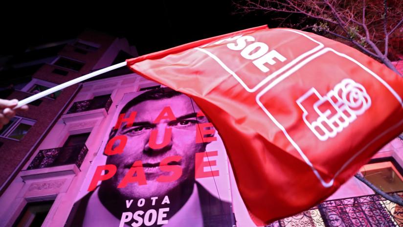 El PSOE de Pedro Sánchez gana las elecciones en España y la extrema derecha irrumpe en el Congreso