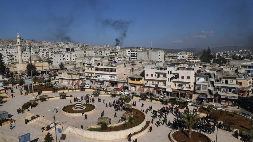 SANA: Terroristas excavan una ciudad siria en busca de joyas arqueológicas para traficarlas en Turquía