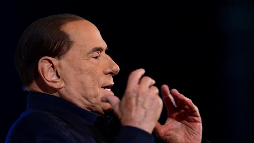 Hospitalizan al ex primer ministro italiano Silvio Berlusconi