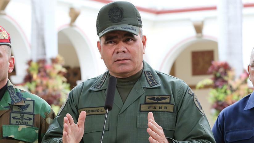 """Ministro de Defensa venezolano: """"La FANB se mantiene firme en defensa de la Constitución y sus autoridades legítimas"""""""