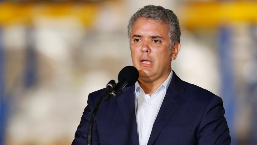 Duque llama a los militares venezolanos a apoyar el golpe de Estado contra Maduro