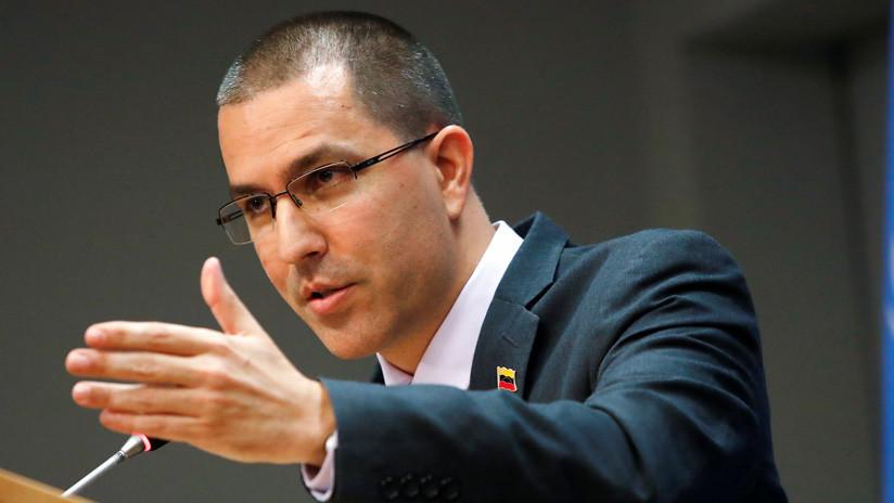 """Jorge Arreaza: """"La factura de este golpe de Estado contra Venezuela es estadounidense"""""""