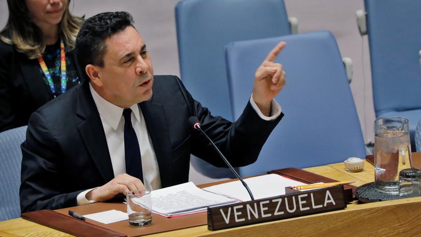 """Embajador de Venezuela en la ONU: """"Hemos derrotado un nuevo intento por crear una guerra civil"""""""