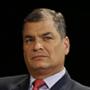 Rafael Correa, expresidente de la República del Ecuador