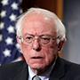 Bernie Sanders, candidato presidencial del Partido Demócrata