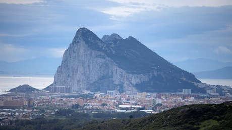 El Peñón del territorio británico de Gibraltar, históricamente reclamado por España. 23 de noviembre de 2018.
