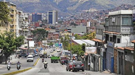 Vista del barrio de Petare en Caracas, 13 de marzo de 2019.