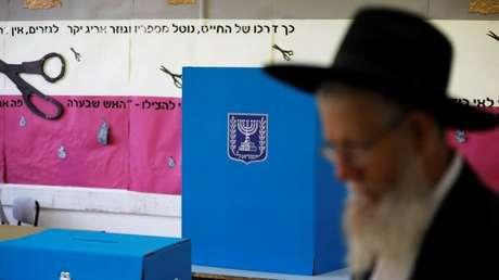 Un colegio electoral en Jerusalén, Israel, el 9 de abril de 2019