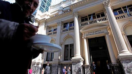 El Banco Central de la República Argentina, el 14 de agosto del 2018.