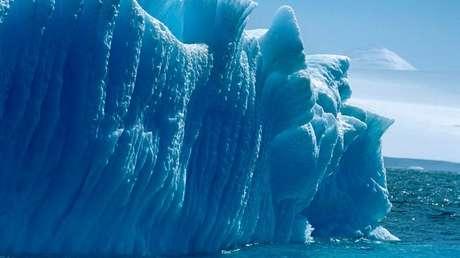 Un iceberg en Antártida