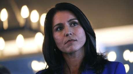 La congresista demócrata y candidata a la Presidencia de EE.UU., Tulsi Gabbard.