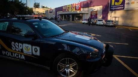 Imagen ilustrativa. Un coche de la Policía en Ciudad de México