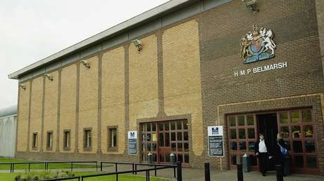 La prisión de Belmarsh en Londres, Reino Unido