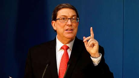 El canciller cubano, Bruno Rodríguez.