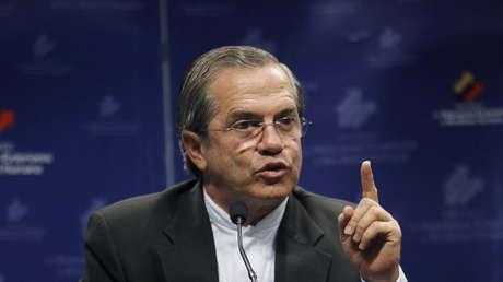 El excanciller de Ecuador, Ricardo Patiño.
