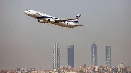 Un Boeing 737-900ER de la aerolínea israelí El Al