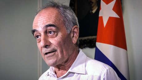 El embajador de la Unión Europea en Cuba, Alberto Navarro. La Habana 16 de abril de 2019.