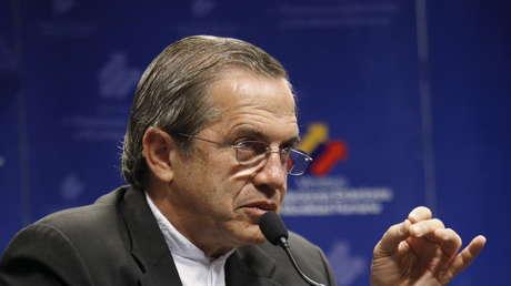 Excanciller de Ecuador, Ricardo Patiño.