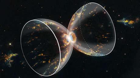 Imagen de la Nebulosa del Cangrejo del Sur captada recientemente por el telescopio espacial Hubble.