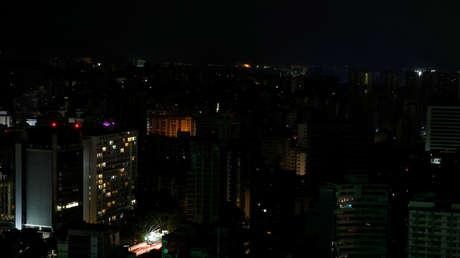 Un apagón en Caracas, Venezuela, 27 de marzo de 2019.