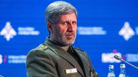 El ministro de Defensa iraní, Amir Khatami