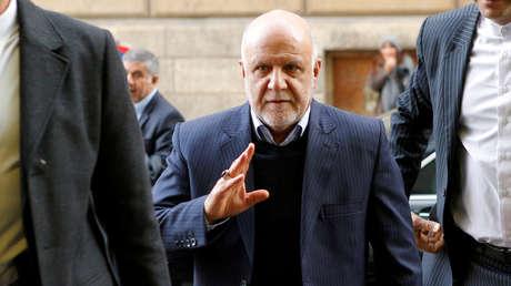 Iranian Minister of Oil, Bijan Namdar Zangane