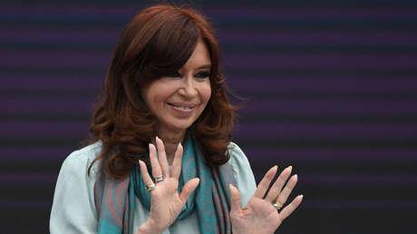 La expresidenta y actual senadora Cristina Fernández de Kirchner en noviembre de 2018