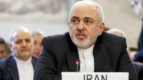 El ministro de Exteriores de Irán, Mohamad Yavad Zarif.