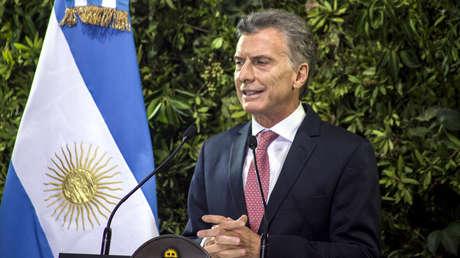 El presidente de Argentina, Mauricio Macri, en Buenos Aires, el 25 de marzo de 2019.