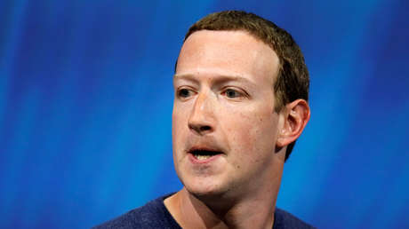 El fundador y director ejecutivo de Facebook, Mark Zuckerberg.