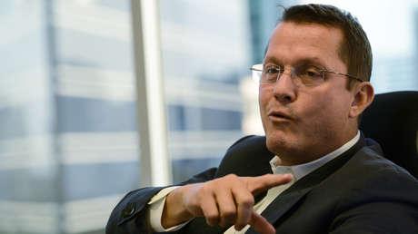 El empresario de Odebrecht, Jorge Barata, durante una entrevista con AFP, el 18 de septiembre del 2015.
