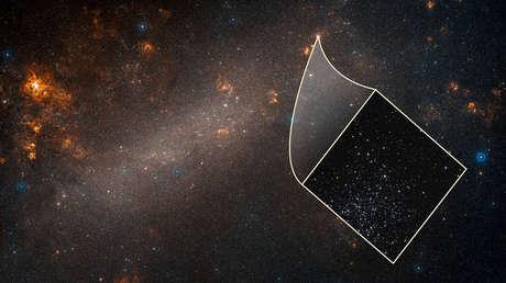 Foto de la galaxia Gran Nube de Magallanes tomada por el telescopio Hubble.
