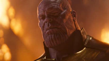 Thanos, el villano de 'Los Vengadores'.