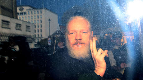El periodista australiano Julian Assange