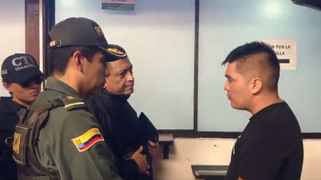 El colombiano Juan Guillermo Valderrama, sospechoso de haber asesinado a la chilena Ilse Ojeda.