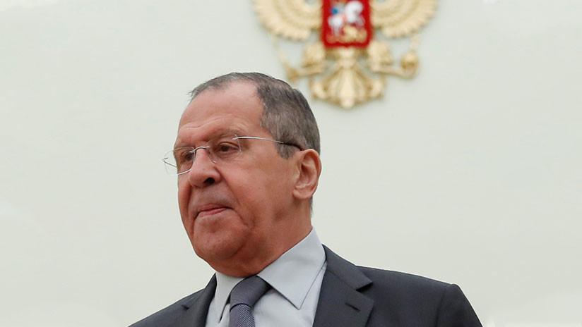 """Lavrov a Pompeo: """"Seguir con los movimientos agresivos hacia Venezuela traerá graves consecuencias"""""""