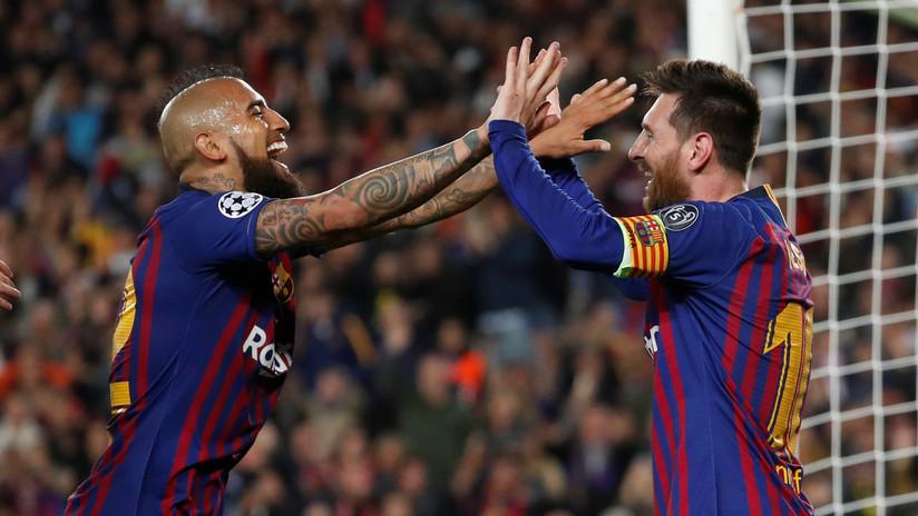 El Barcelona de Messi golea al Liverpool en el partido de ida de la semifinal de la Liga de Campeones
