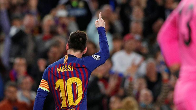 """""""De otro planeta"""": El mundo del fútbol se rinde ante esta nueva maravilla de Messi"""