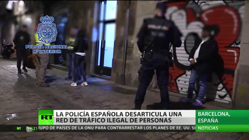 La Policía española desarticula una red de tráfico ilegal de personas